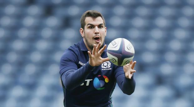 Stuart McInally will start for Scotland against Japan