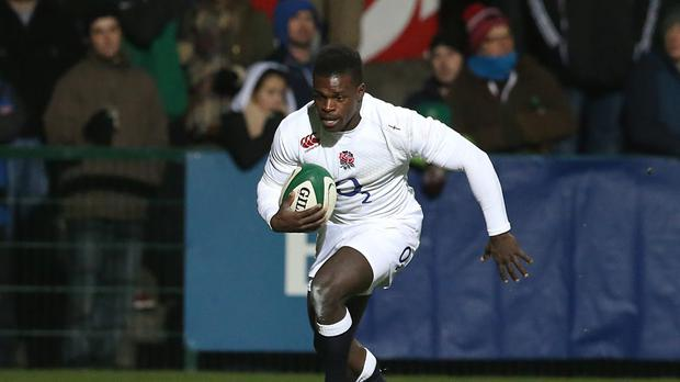 Christian Wade's late try earned England Saxons a series victory in South Africa