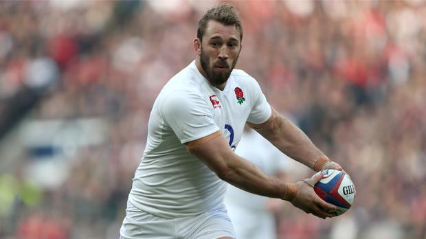 Chris Robshaw was outstanding on his 50th Test appearance for England