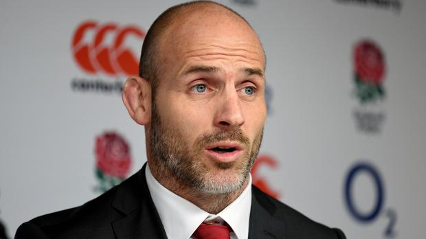 England defence coach Paul Gustard read a poem before the win over Australia.