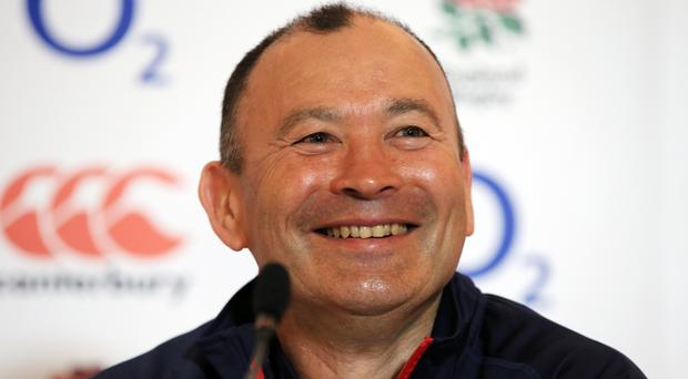 Head coach Eddie Jones has won all eight matches in charge of England