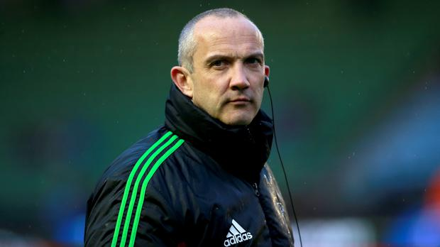 Former Harlequins director of rugby Conor O'Shea claimed his first win as Italy head coach