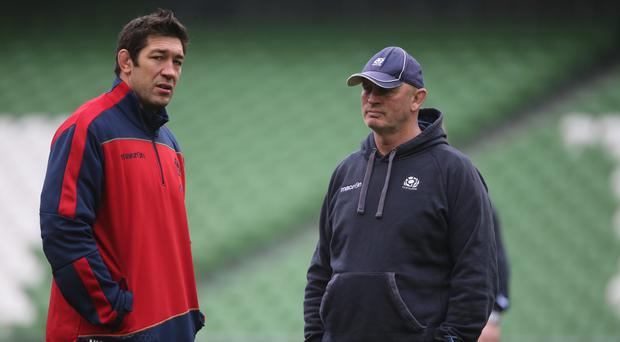 Nathan Hines (left) claims Scotland stand a good chance of beating Japan if they can eliminate silly mistakes.