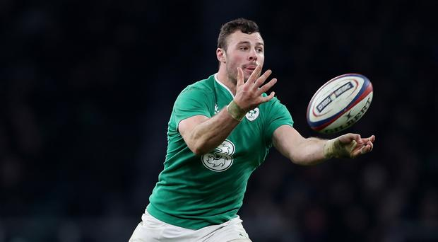 Robbie Henshaw will have undergo knee scans after flying home on Sunday night