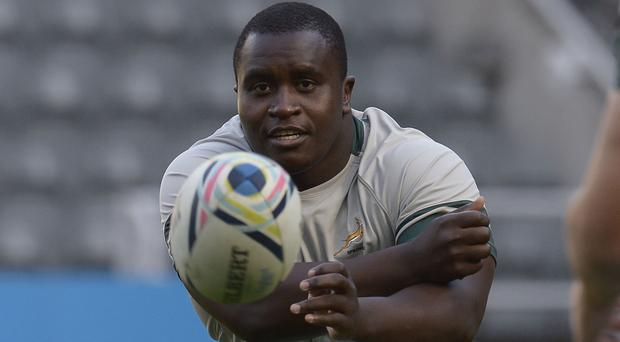 Trevor Nyakane will miss the final Test against Ireland