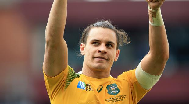 Australia's Matt Toomua is set to return for the third Test against England following a knee injury