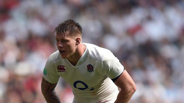 Teimana Harrison came in for James Haskell to win his second Test cap