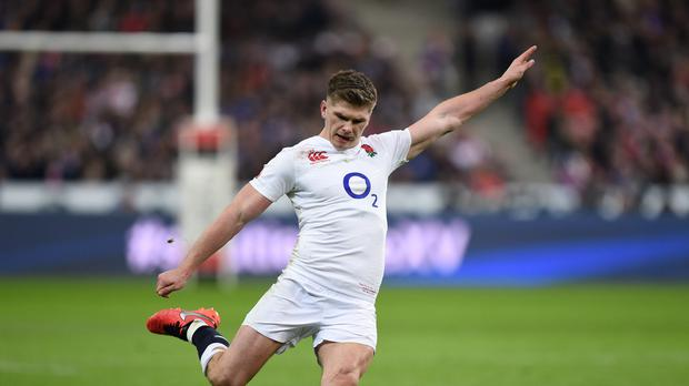 Owen Farrell kicked 24 points in a man-of-the-match performance