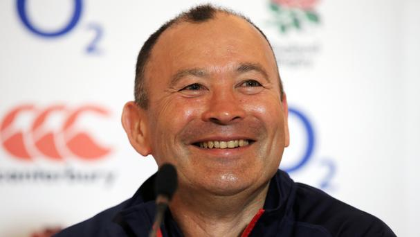 Eddie Jones has yet to taste defeat as England head coach
