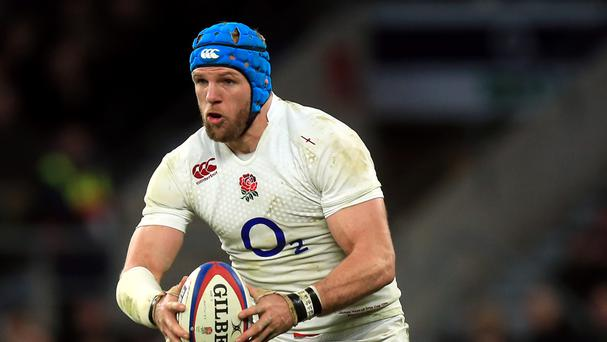 James Haskell was England's stand-out player against Australia