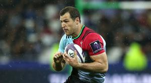 Tim Visser is set to face former club Edinburgh in Europe