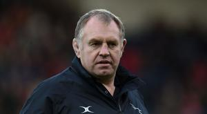 Newcastle director of rugby Dean Richards, pictured, has added Kyle Cooper to his squad