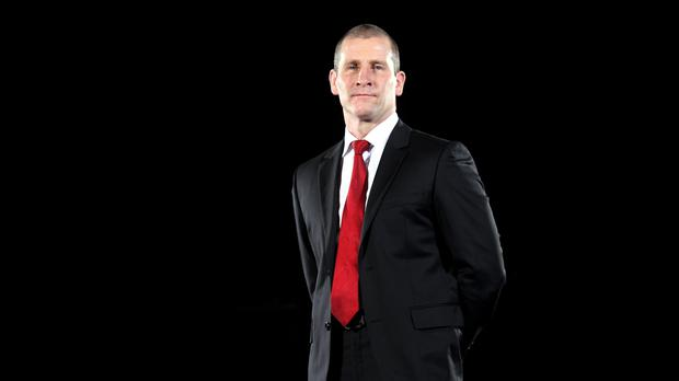 Stuart Lancaster has spent time with the Atlanta Falcons