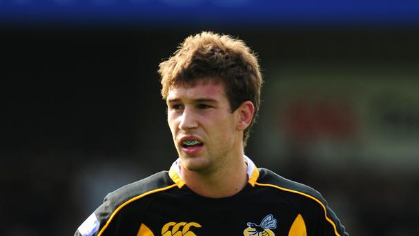 Former Wasps centre Dominic Waldouck is to join Newcastle on trial