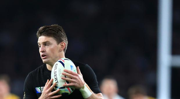 New Zealand international Beauden Barrett scored the last of the Hurricanes' five tries