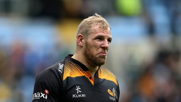 Wasps flanker James Haskell has undergone surgery after being injured during last month's England tour of Australia
