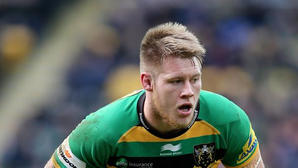England international Teimana Harrison is among six players to agree new deals with Aviva Premiership club Northampton