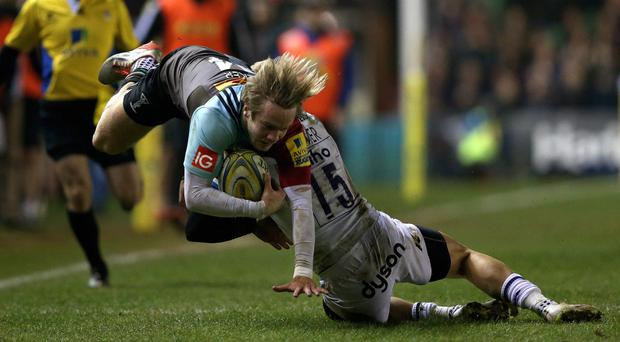 Wing Charlie Walker has signed a new contract at Harlequins