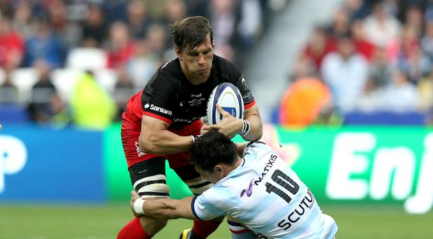 Michael Rhodes has signed a new contract at Saracens