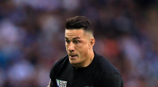 New Zealand rugby star Sonny Bill Williams has been ruled out of the Rio Olympics due to injury