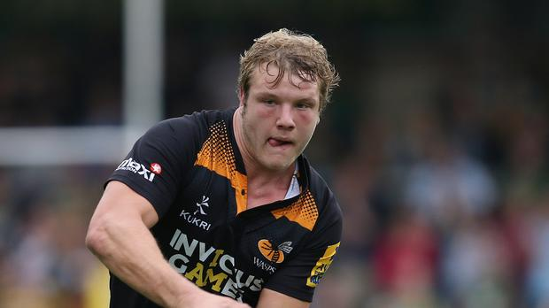 England lock Joe Launchbury has been named Wasps captain for the 2016-17 season