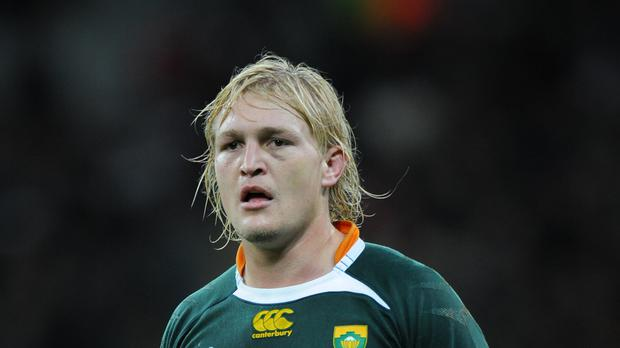 South Africa flanker Dewald Potgieter will miss the first three months of Worcester's season after having thigh surgery