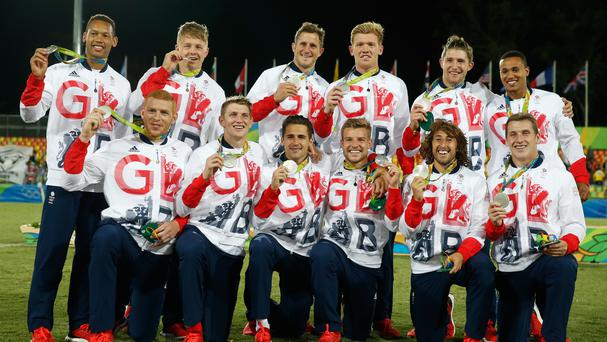 Great Britain finished second in the rugby sevens