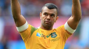Kurtley Beale says a date has not been set for his Wasps debut