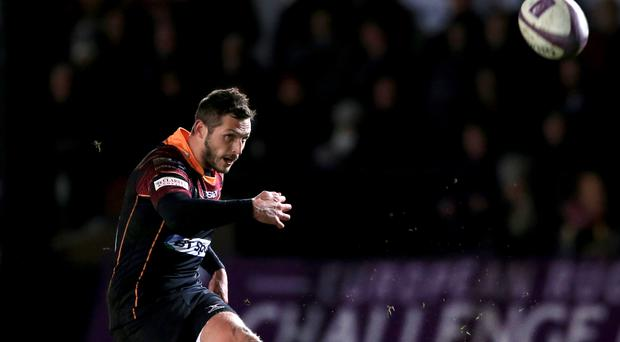 Edinburgh stand-off Jason Tovey is out for eight weeks with wrist injury
