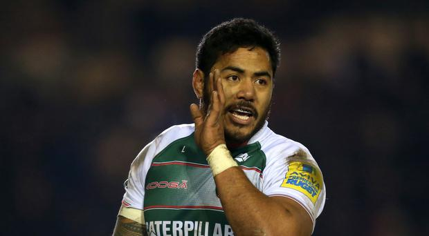 Manu Tuilagi, pictured, has been tipped to hit peak form by Leicester team-mate Peter Betham