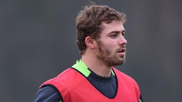 Leigh Halfpenny has said he will be available for next summer's British and Irish Lions tour, if selected