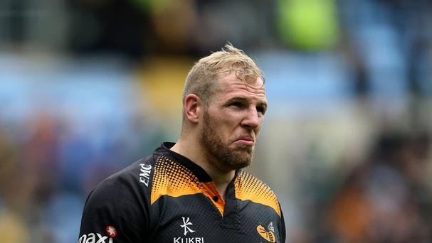Flanker James Haskell, pictured, has admitted he played through the pain of his toe injury to produce a man-of-the-series performance as England claimed a maiden Test series victory in Australia