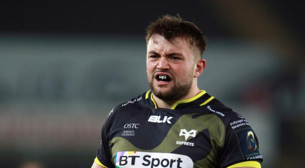 Sam Parry claimed a hat-trick of tries