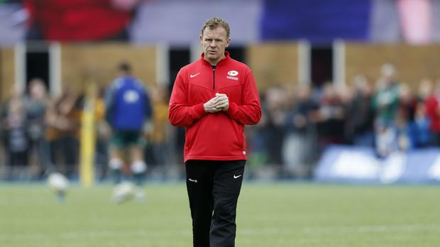Saracens director of Rugby Mark McCall had plenty to ponder despite victory
