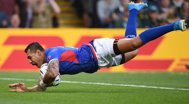 Bristol's Tusi Pisi was the best player on the pitch at Twickenham