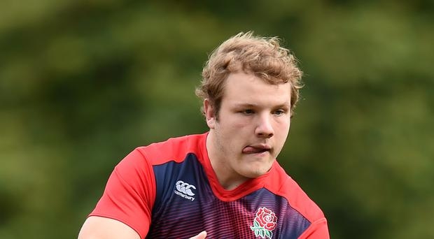 England lock Joe Launchbury is relishing his new role as Wasps captain