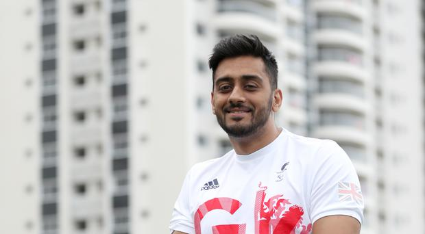 Wheelchair rugby player Mandip Sehmi is looking forward to his third Paralympics in Rio