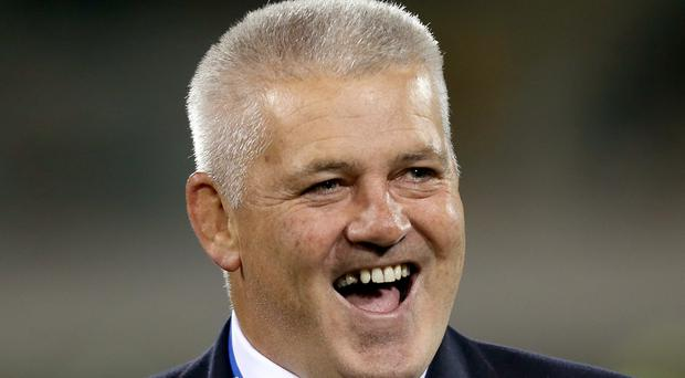 British & Irish Lions' head coach Warren Gatland.