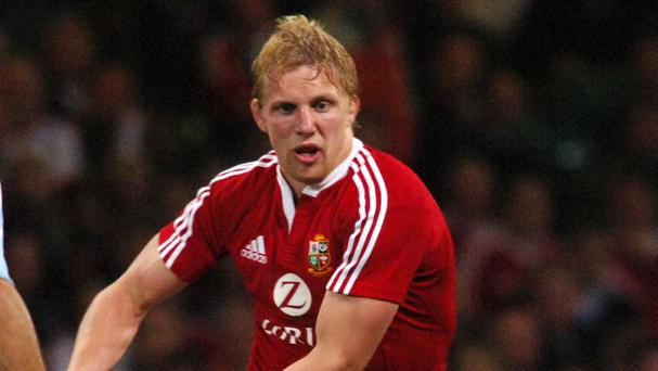 Lewis Moody is the British & Irish Lions' most recent try-scorer in New Zealand