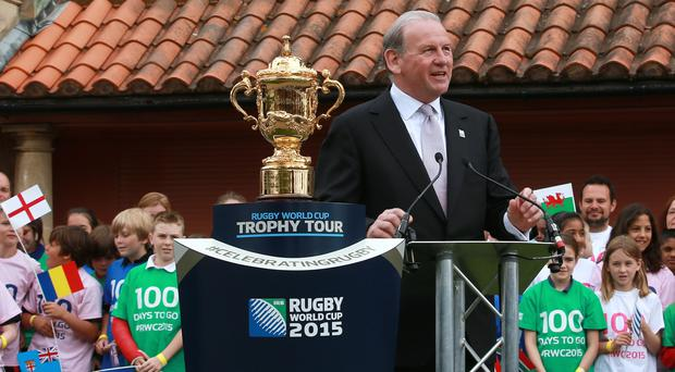 Andy Cosslett was chairman of England Rugby 2015, the organising committee for last year's World Cup.