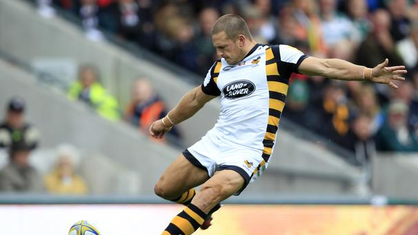 Wasps' Jimmy Gopperth excelled against Leicester