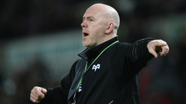 Ospreys head coach Steve Tandy saw his team win well against Connacht