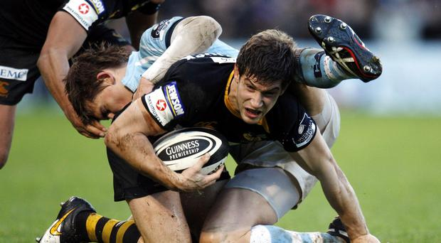 Former England Saxons centre Dominic Waldouck is set for a permanent switch to Newcastle