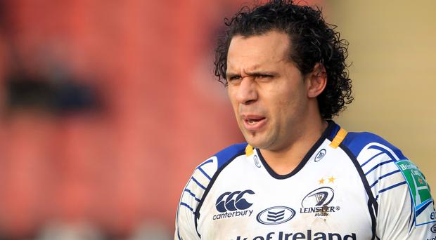 Isa Nacewa scored 13 points on his 150th Leinster appearance