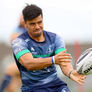 New face: Stacey Ili has joined Connacht from Auckland Rugby