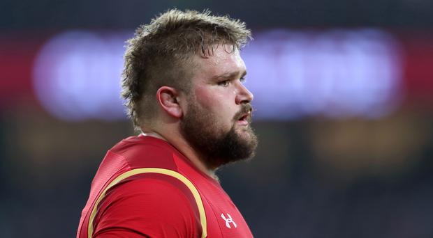 Wales' Tomas Francis is facing a fortnight out of club action