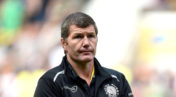 Rob Baxter will take his team to Bristol on Friday for an Aviva Premiership west country derby