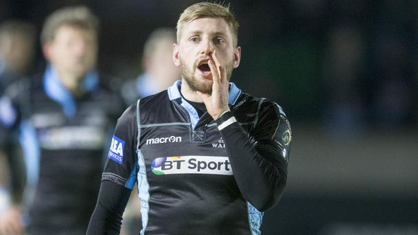 Finn Russell returns to the Glasgow Warriors line-up against Ulster on Friday night