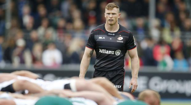 Saracens' Chris Ashton has been banned for 13 weeks for biting