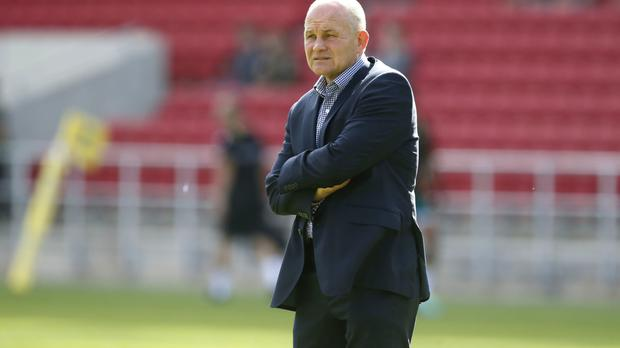 Andy Robinson was disappointed with Bristol's loss to Exeter